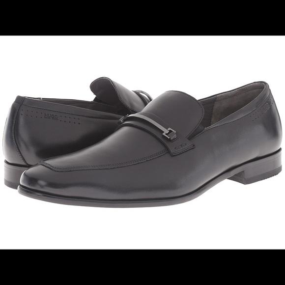 7a3dd26b022 HUGO -C-Hulof Slip-on Loafers Dress Shoes Black
